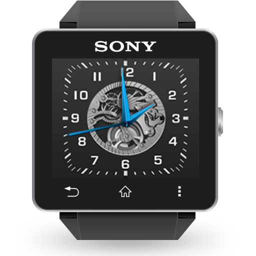 Mechanical Pro Analog Clock WatchFace for SW2: Amazon.es ...