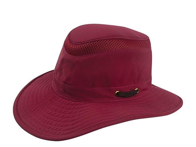 23faf240b Tilley Hats LTM6 Men's Airflo Hat, Wine - 7-3/4 at Amazon Men's ...