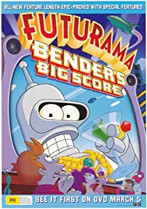 Futurama: Bender's Big Score Poster TV Australian 11x17 Billy West Katey Sagal John Di Maggio