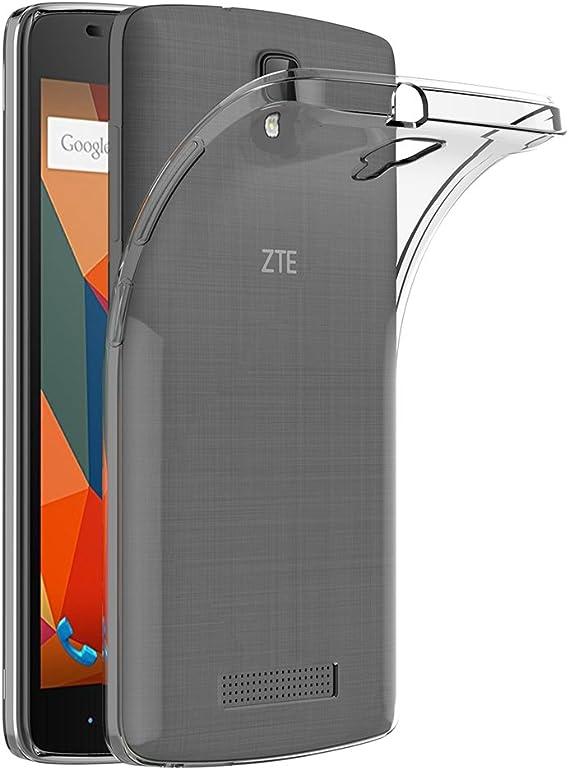 Funda ZTE Blade L5 Plus, AICEK Transparente Silicona Fundas para ...