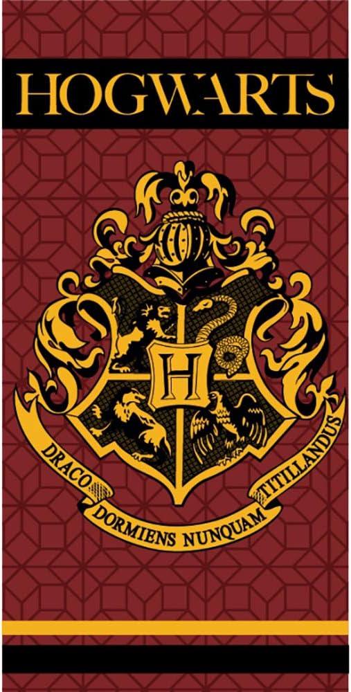 Harry Potter Serviette de Bain en Microfibre pour Enfant Poudlard 100/% Polyester