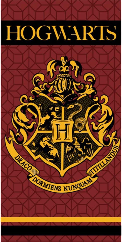 Carbotex 70 x 140 cm Harry Potter UNDESIDERABLE Wanted Number 1 Original Toalla de Playa Oficial