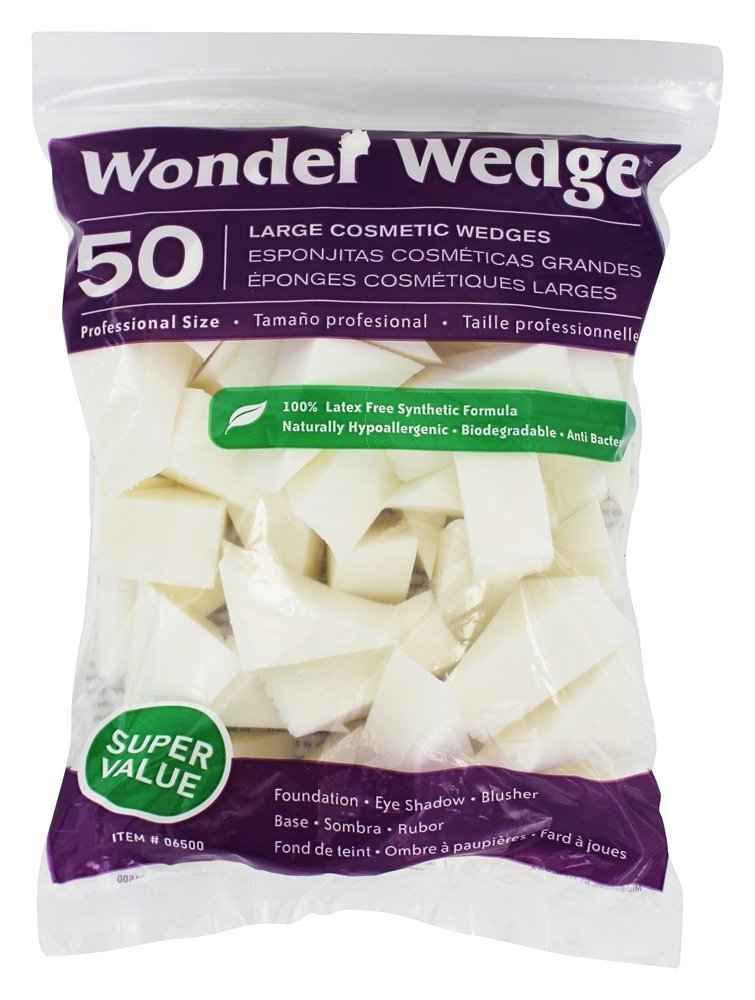Wonder Wedge 50 Count Cosmetic Wedge Large