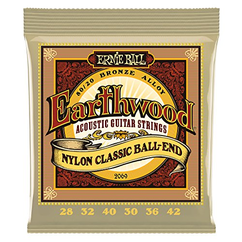 Ernie Ball Earthwood Nylon Clear product image