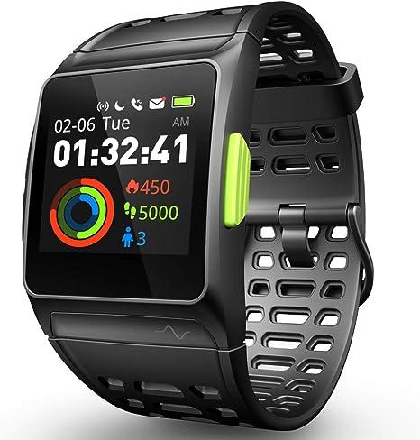 Reloj Inteligente Rastreador de Ejercicios, GPS Reloj Deportivo ...