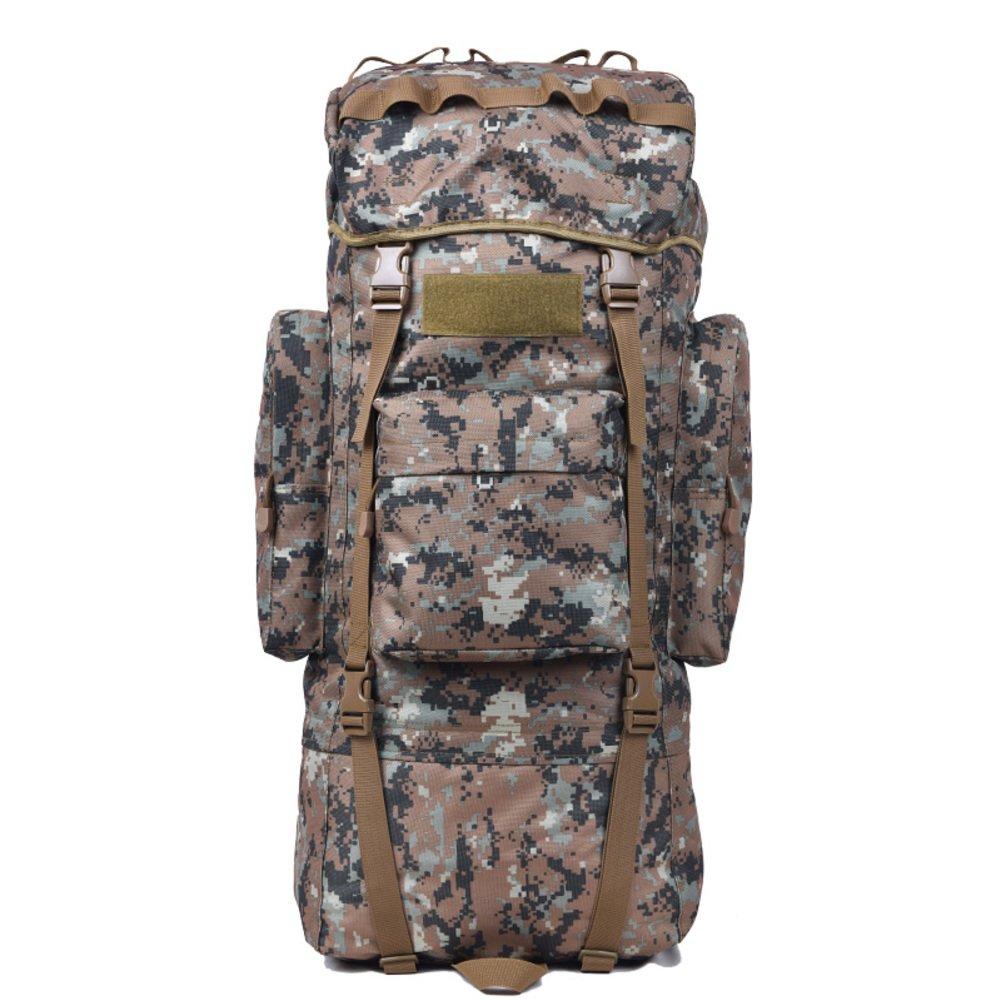 J 65L Alpinisme en plein air sac sac à dos    sac à dos de grande capacité amoureux    imperméable randonnée Pack