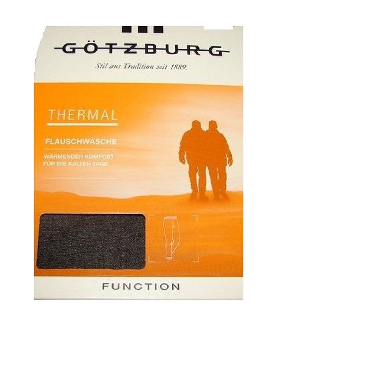 Götzburg Thermal Flauschwäsche lange Unterhose Hose Wärmender Komfort grau Funktionswäsche Gr. L / 6 wärmender Komfort für die kalten Tage ideal zum Skifahren