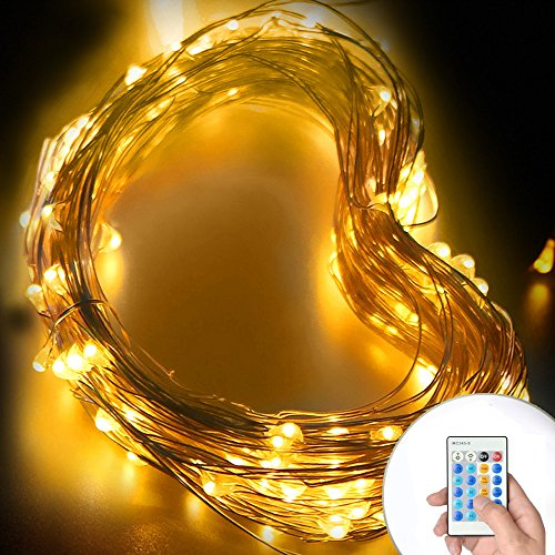 Starry-String-Lights-Simmper-33ft-100-LED-Dimmable-Copper-Wire-Firefly-Lights-Warm-White-8-Mode-Christmas-Decorative-Lights-with-Remote-Control-for-Indoor-Outdoor-Garden-Decoration