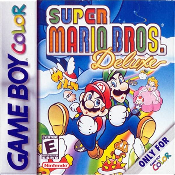 super mario bros deluxe gbc gameplay