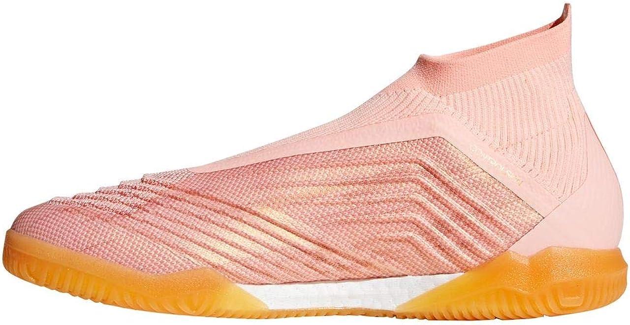adidas Predator Tango 18+ IN, Zapatilla de fútbol Sala, Clear Orange-Trace Pink