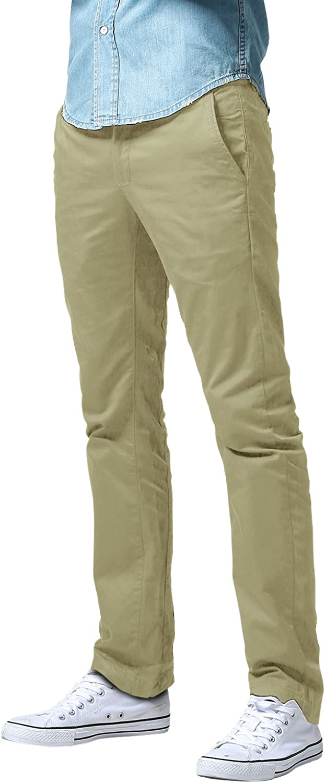 Match Men's Athletic Fit Straight Leg Casual Pants