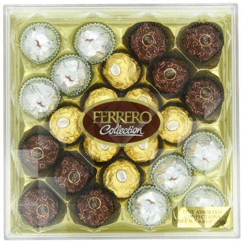 Ferrero Collection 18 Piece Gift Box, 24 Count, 8.8 Ounce (250 - Collection Canada