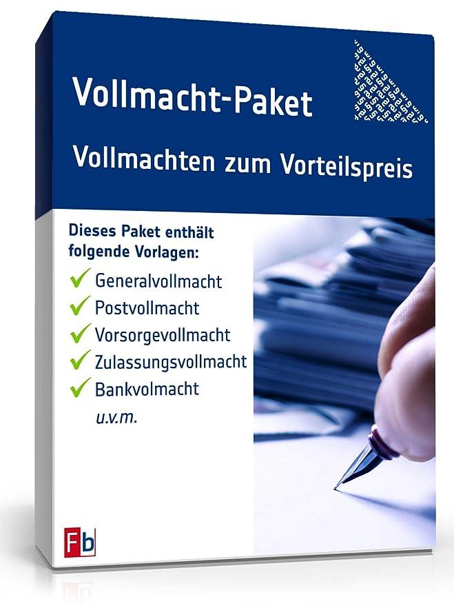 Vollmacht Paket Zip Ordner Amazonde Software