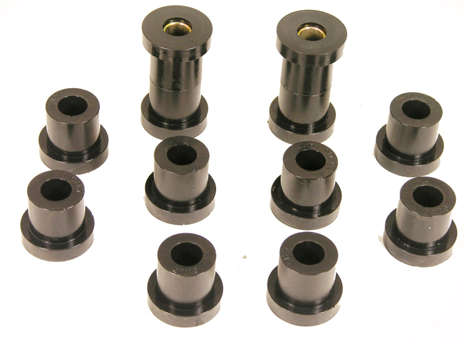 Prothane 7-1022-BL Black Rear Spring Eye and Shackle Bushing Kit