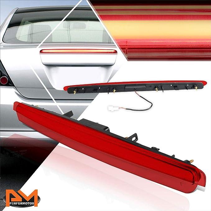 Red Lens Rear Center 3D LED Bar Third Tail Brake Light 3rd Stop Lamp for Scion tC 05-10