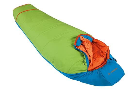 VAUDE Dreamer Adjust 450 Saco de Dormir, Unisex Niños, Azul (Skyline),