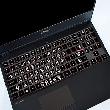 LCRGMPC Ordenador portátil Accesorios para la protección del Teclado Película Polvo Transparente Cobertura Total Teclado Película Lenovo Notebook ...