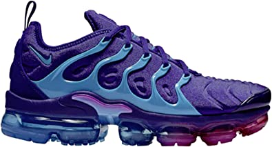 Nike Men's Air Vapormax Plus Regency Purple/Light Blue Fury Mesh Basketball Shoes 12 M US