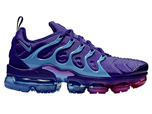 Nike Mens Air Vapormax Plus Regency Purple/Light Blue Fury Mesh Basketball  Shoes 11 M US