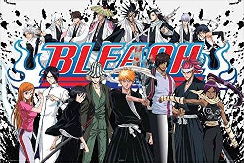 Kubo Bleach Anime Cartoon TV Poster