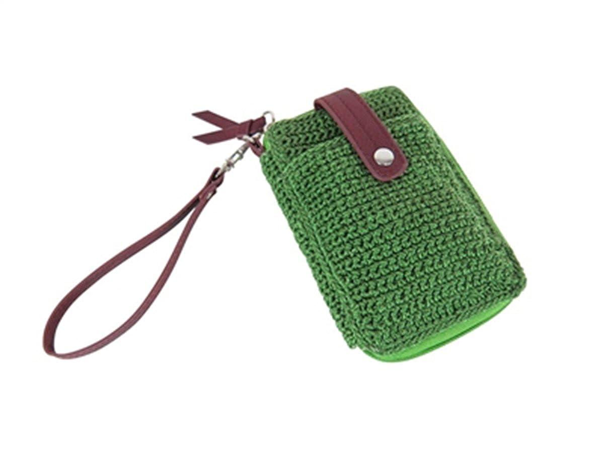 Boho Crochet Wallet W/Faux...