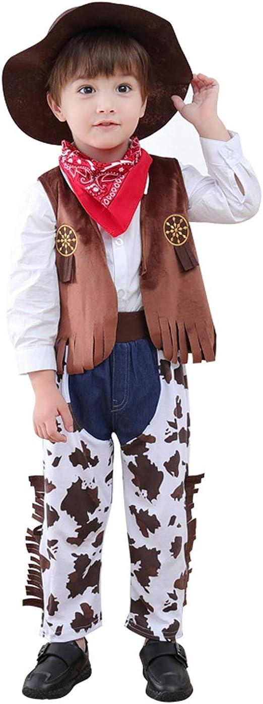 LOLANTA Disfraz de Cosplay de Vaquero para niños Disfraz de ...