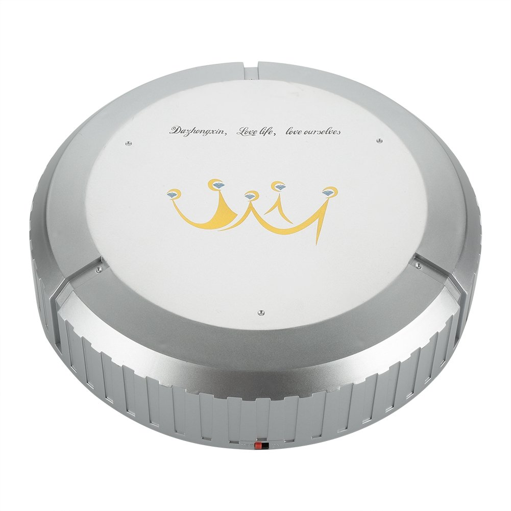 Automatic Robot Vacuum Cleaner Smart Sweeping Machine Vacuum Floor Dust Cleaners Scheduler for Carpet Hard Floor(Golden ) Fdit