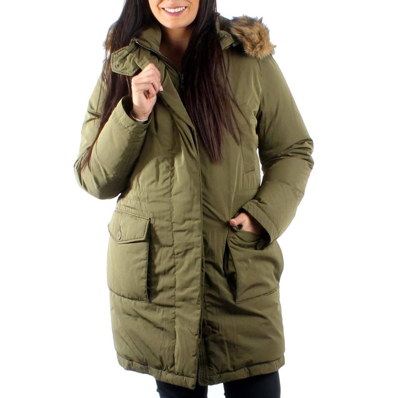 Geox Women Coats Coats WomenColour GreenBrandModel thrsdCQ