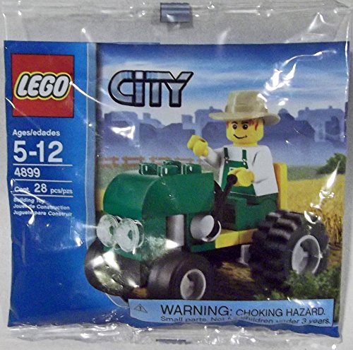 Lego Tractor (LEGO City: Tractor Set 4899 (Bagged))