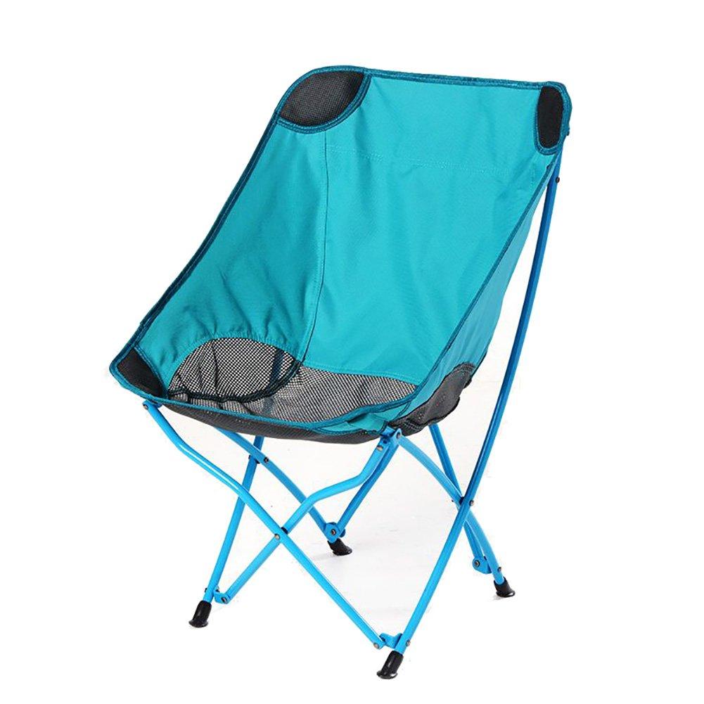 【逸品】 キャンプ椅子ZGL Outdoorsアウトドア折りたたみ椅子背もたれラウンジチェアバルコニーReclinersポータブルビーチ椅子旅行ブルー重量130 kg B07DH3Y32X B07DH3Y32X, 丹波市:41a52d49 --- cliente.opweb0005.servidorwebfacil.com