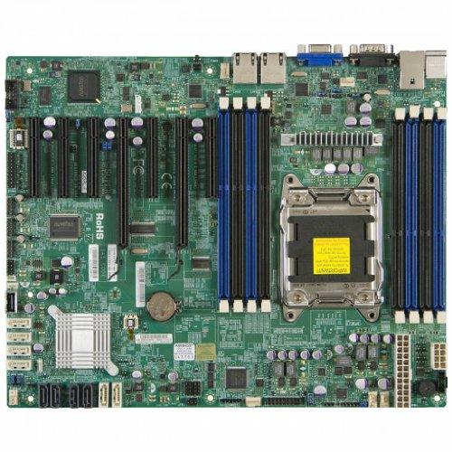 - Supermicro X9SRL-O LGA2011/ Intel C602/ DDR3/ SATA3/ V&2GbE/ ATX Server Motherboard
