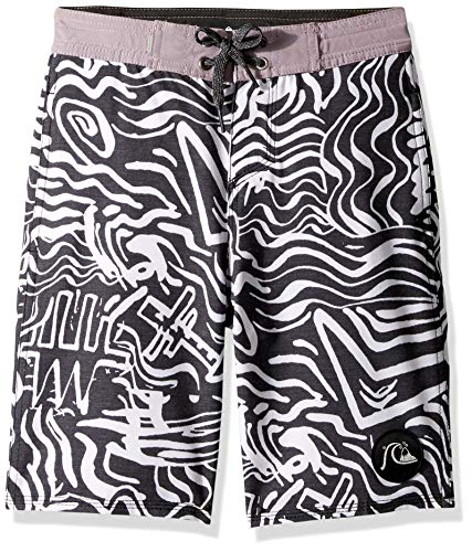 Quiksilver Big Boys' Secret Ingredient Beachshort Youth 18 Boardshort, White, 26/12