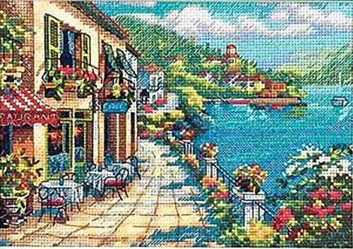 Dimensions Needlecrafts Counted Cross Stitch, Overlook Cafe