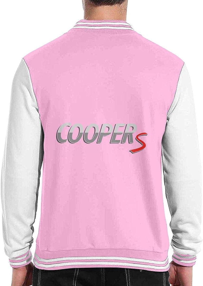 Wangfone Mini Coopers Baseball Coat Varsity Sportswear Coat for Men Women