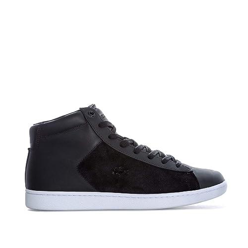 FR Sneaker Noir Lacoste Carnaby Evo Mid Femmes Lacoste