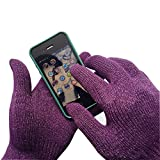 Unisex Sport Touchscreen Gloves, iPhone Gloves, Texting Gloves for Smartphones & Tablets