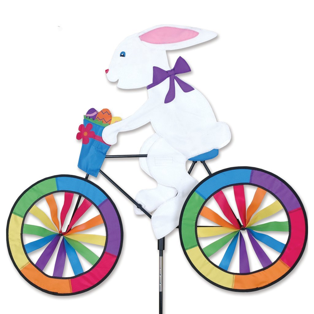 Amazoncom Bike Spinner Easter Bunny Wind Spinners Patio