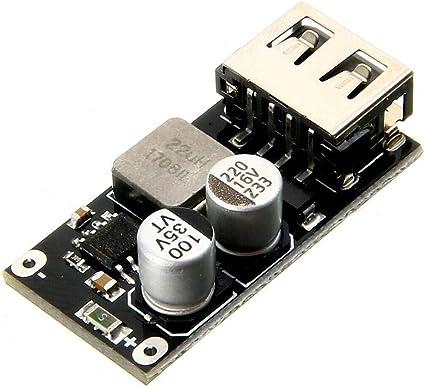 QC3.0 QC2.0 6-32V 12V 24V DC-DC Step Down Buck Converter Charging Circuit Module