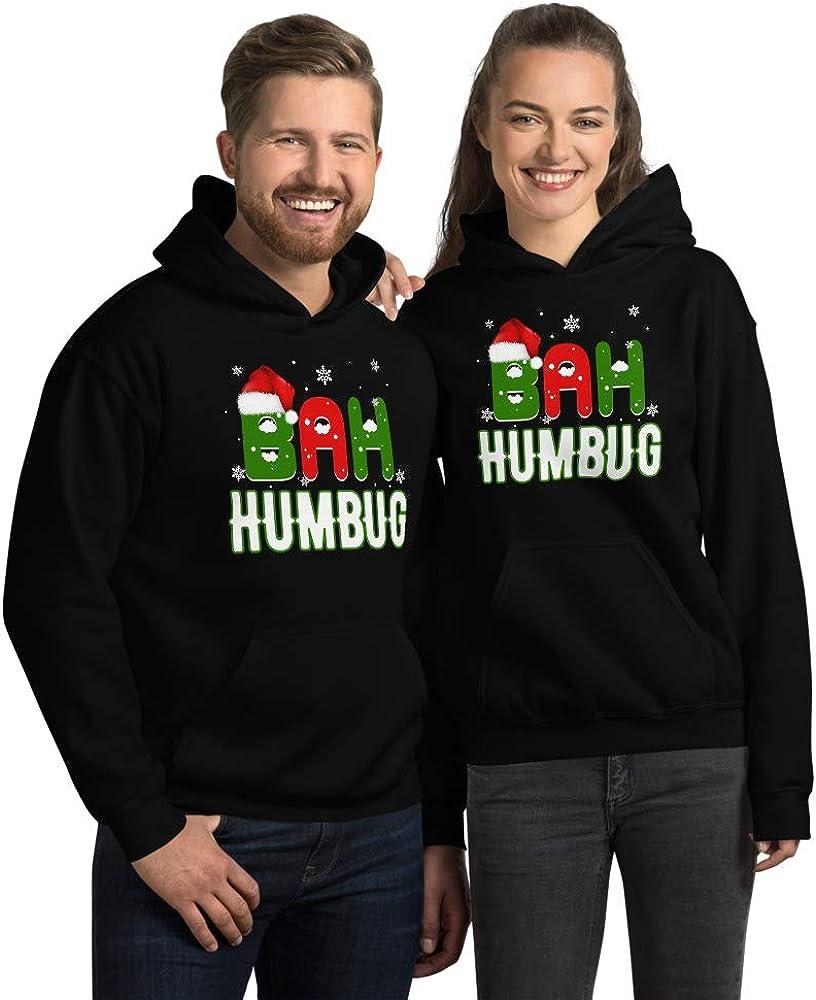 TEEPOMY Bah Humbug Ebenezer Scrooge Christmas Unisex Hoodie