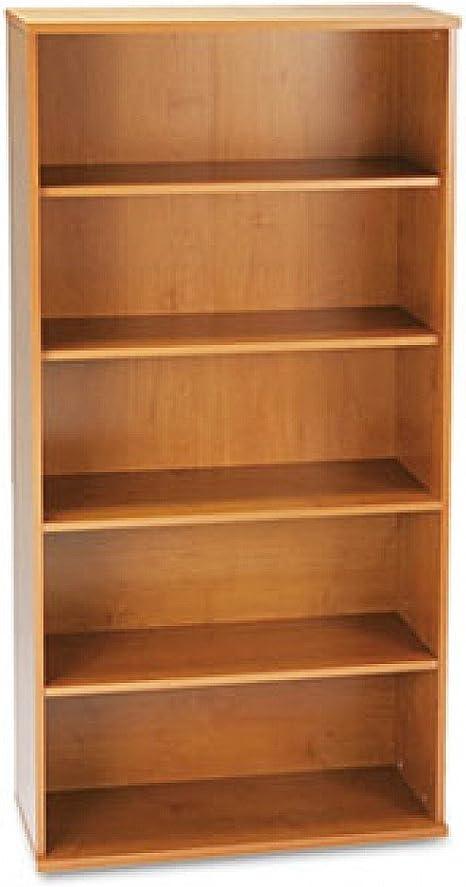 Librero de 36 Pulgadas con 5 estantes Serie C Color Cerezo ...