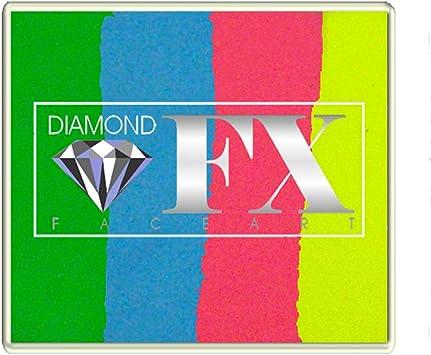 Diamond FX Split Cakes 50g cara torta dividida pintura ~ feliz cumpleaños (rs50-98): Amazon.es: Juguetes y juegos