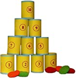 Traditional Garden Games Tin Can Alley Fairground Target Game