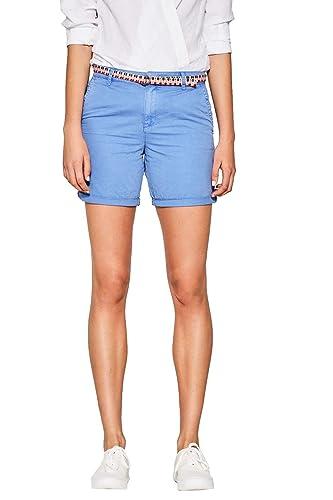 ESPRIT 067ee1c004, Pantalones Cortos para Mujer