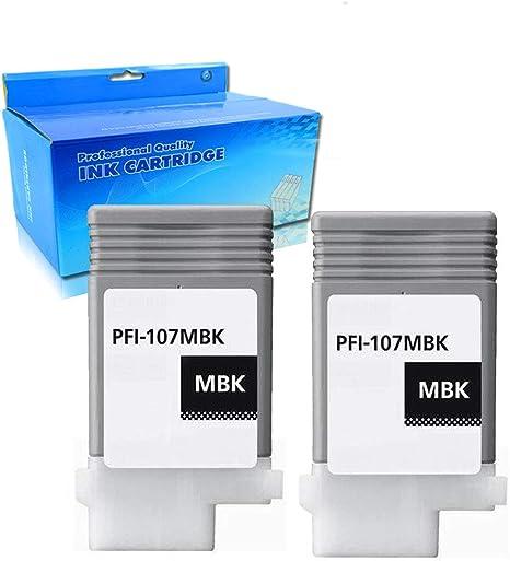 Canon PFI-107MBK Matte Black Ink Cartridge IPF670 IPF680 685 IPF770 IPF780 785