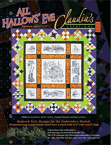 (All Hallows Eve Machine Embroidery CD by Claudia's)