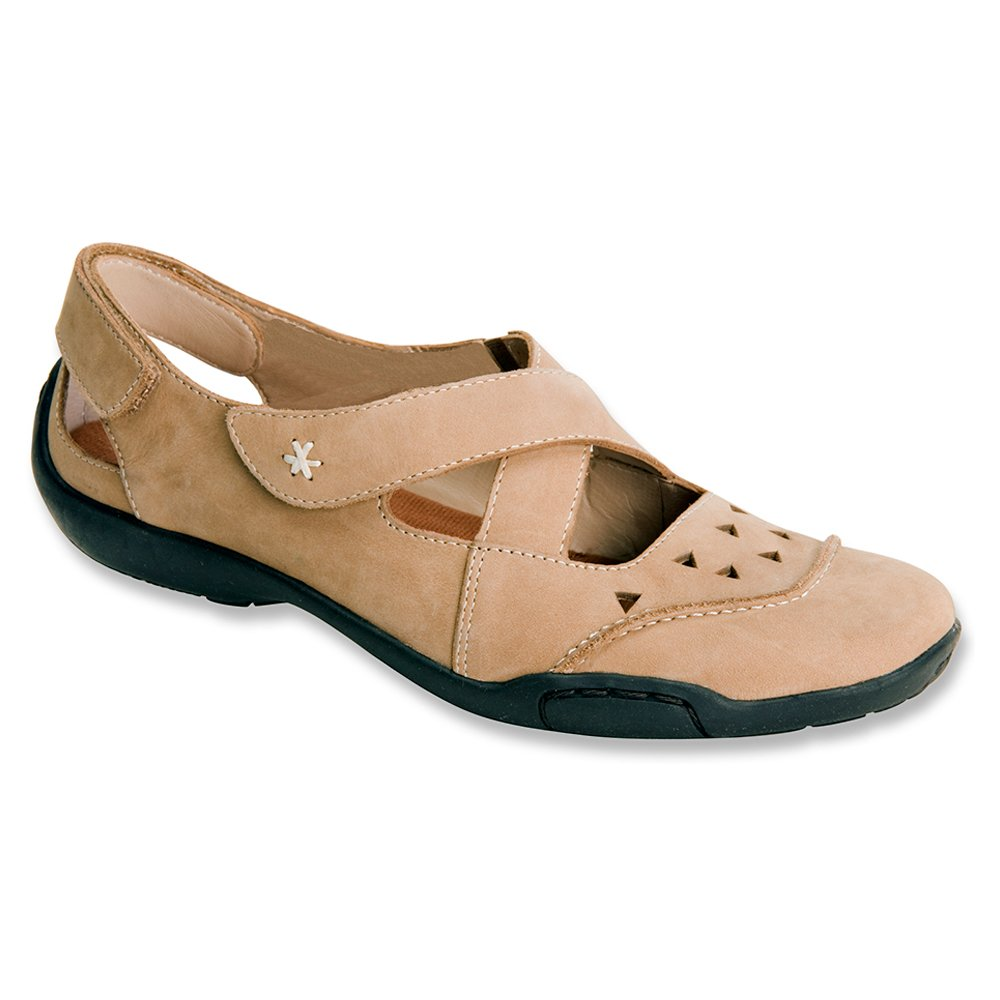 Ros Hommerson Women's Carrie Flats B00HUYF306 10 2A(N) US|Taupe Nubuck