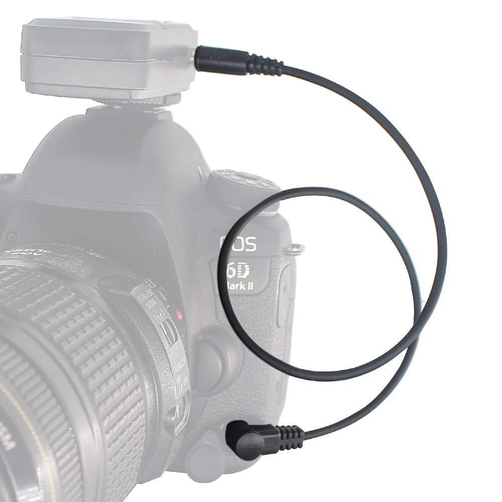 PIXEL Cables disparadores 3.5mm-S2 Off C/ámara Cable Disparador Remoto Cable de Conexi/ón Disparadores inal/ámbricos para Sony