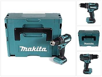 Makita DHP 485 ZJ - Taladro atornillador inalámbrico (18 V ...