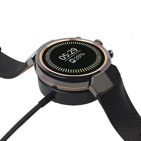 Sikai Reemplazo USB Carga Cable Cargador Dock para ASUS ZenWatch 3 Smartwatch Ligero Muelle de Carga de Cuna Magnética Charging Cable para ASUS WI503Q ...
