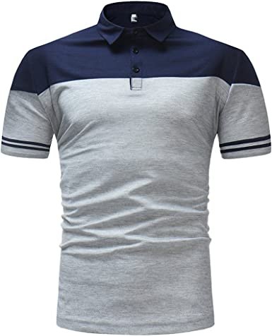 Usopu Mens Casual//Daily Going Out Embroidery Printing Solid Colored Short Sleeve Shirt